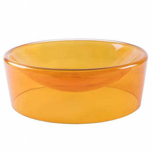 Glass Bowl - Amber